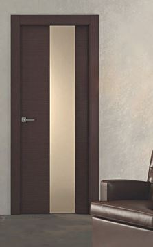 Wengé porte série italienne